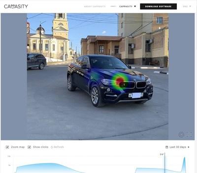 Cappasity analytics dashboard