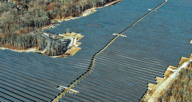 CS Energy completed this 21 megawatt solar project in under six months in the northeastern US.