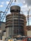 Bechtel Sets Top of Unit 3 at U.S. Nuclear Plant Construction Site