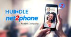 Net2phone lança plataforma de videoconferência Huddle
