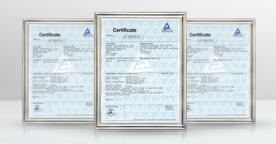 UL9540 Compliance Certificate for C&I Energy Storage System ST556kWh-250UD