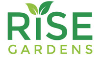 Rise Gardens Logo (PRNewsfoto/Rise Gardens)