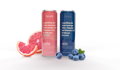 CarryOntm launches Sparkling CBD Waters and Brand Mission to Normalize the Pursuit of Mental Wellbeing