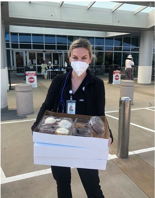 Delivery to First Responders