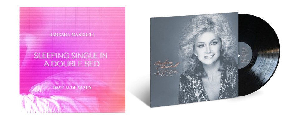 """Barbara Mandrell released Dave Audé's remix of her hit song """"Sleeping Single In A Double Bed"""" today. Written by Kye Fleming and Dennis Morgan, the original song was released August 1, 1978 and was the first single from her album, Moods. Mandrell has also announced she will be releasing a greatest hits album on vinyl titled, After All These Years: A Collection, exclusively with Cracker Barrel and will be available July 10 at Cracker Barrel Old Country Store® locations nationwide and online."""