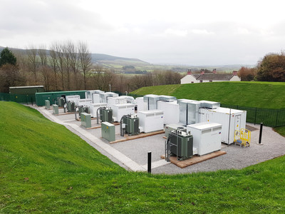 NEC Energy Solutions Grid Storage Project