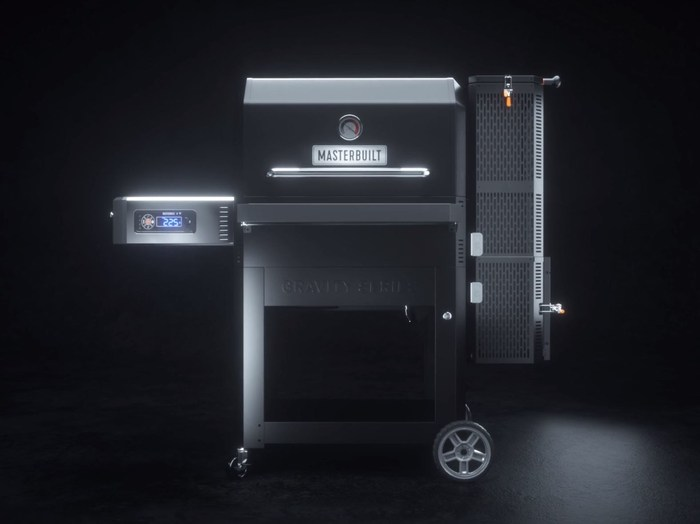 The all-new Masterbuilt Gravity Series™ 1050 Digital Charcoal Grill + Smoker offers 1,050 square inches of cooking space.