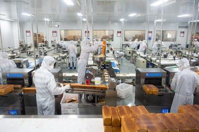 The manufacturing shop of Hunan Yanjin Puzi Holding Co., Ltd.