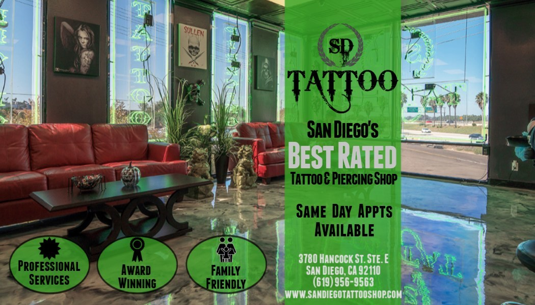 Sd Tattoo And Body Piercing Prepares To Reopen With New Covid 19 Precautions