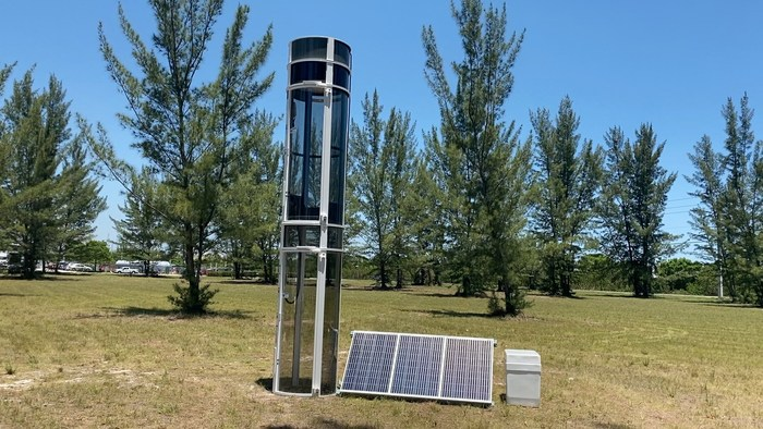 Home Elevator - Powered by Air and Sun