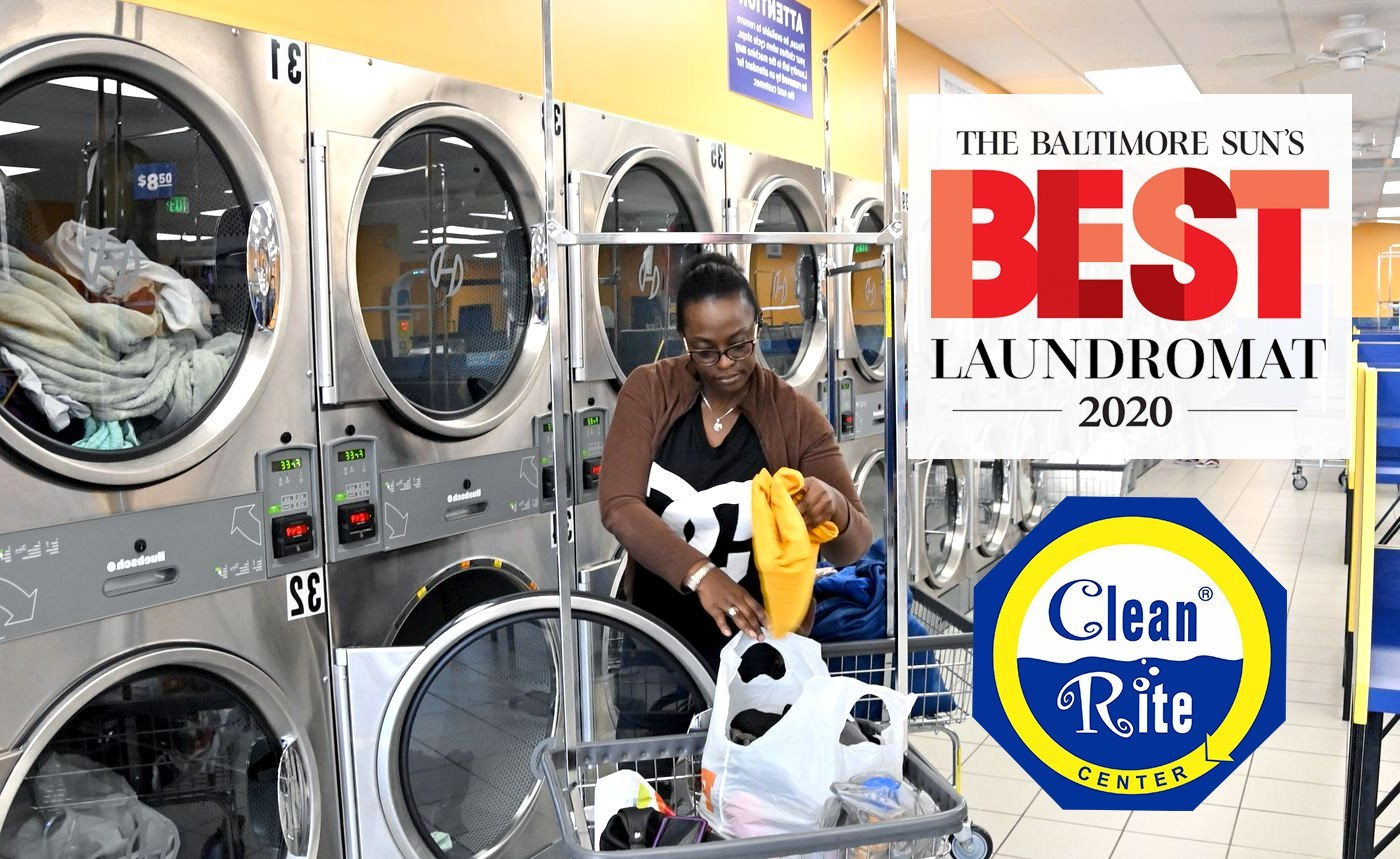 Clean Rite Center Named Best Laundromat In Baltimore