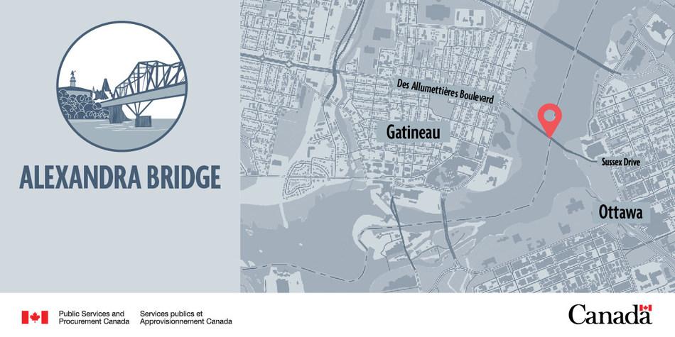 Alexandra Bridge (CNW Group/Public Services and Procurement Canada)