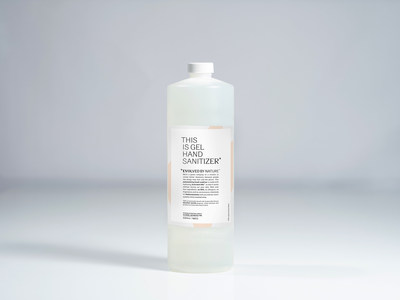 Evolved By Nature hand sanitizer, 1 liter