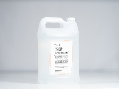 Evolved By Nature hand sanitizer, 1 gallon