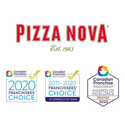 Pizza Nova CFA Awards 2020 (CNW Group/Pizza Nova)