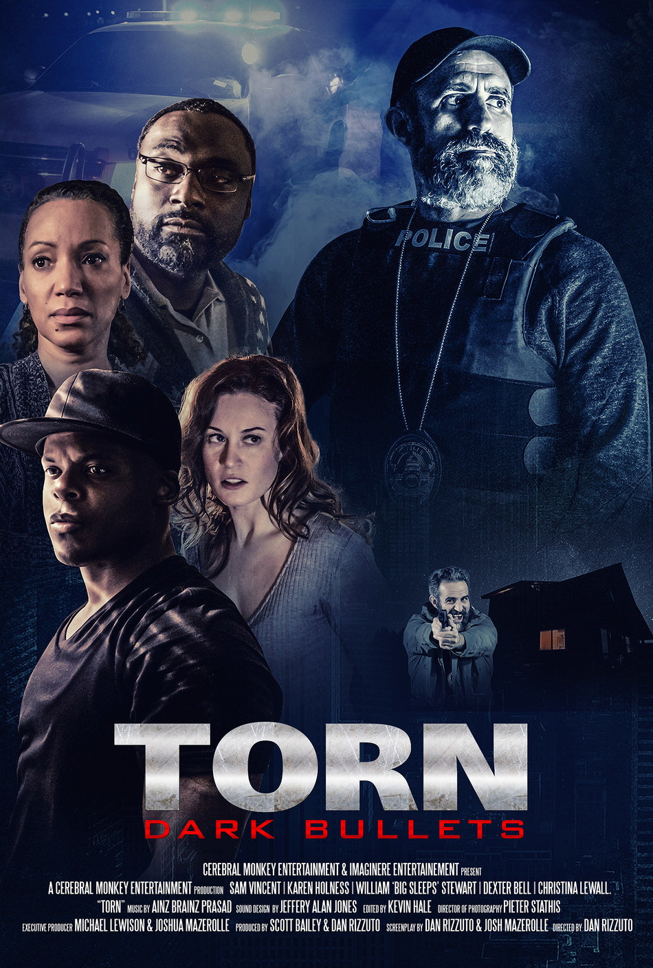 Torn Dark Bullets Official Poster (CNW Group/Imagin•ere Entertainment)