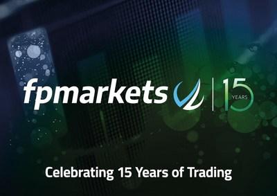 FP MARKETS CELEBRATES ITS 15 YEAR ANNIVERSARY (PRNewsfoto/FP Markets)