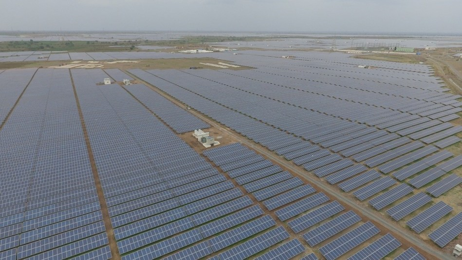 RISEN PV Modules in operation at a 500 MW Solar Park in India