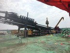 XCMG's XZ13600 Makes Successful Debut in China-Russia 'East-route' Natural Gas Pipeline Project