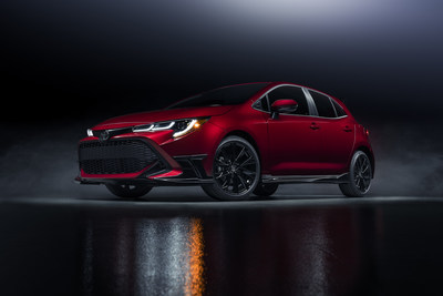 El Toyota Corolla Hatchback Special Edition 2021 debuta al rojo vivo
