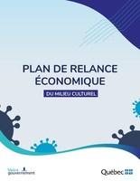 Plan de relance 2020 (Groupe CNW/Cabinet de la ministre de la Culture et des Communications)