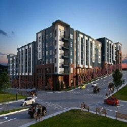 Alta Purl will feature 341 units comprised of one-, two- and three-bedroom apartment homes as well as studios.