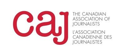 Logo: Canadian Association of Journalists (CNW Group/Canadian Association of Journalists)