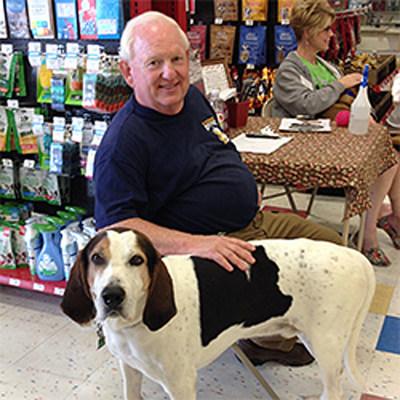 Mike Gresham, K-9 Stray Rescue League (Detroit, MI) (PRNewsfoto/Petco Foundation)