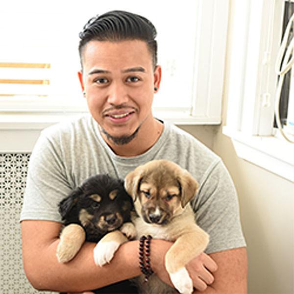 Andre Karma, Muddy Paws Rescue (New York, NY) (PRNewsfoto/Petco Foundation)