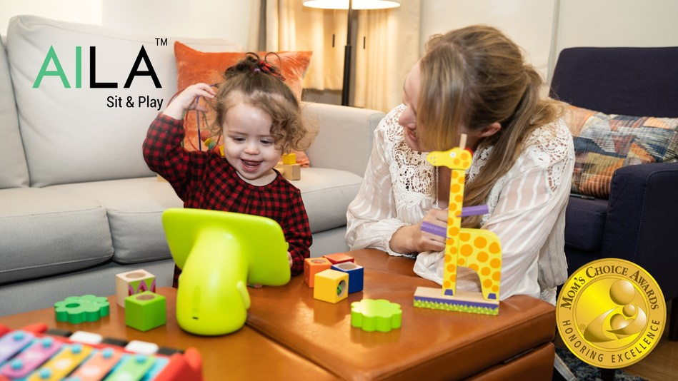 DMAI is honored to announce that AILA Sit & Play has earned the prestigious Mom's Choice Award. Having been rigorously evaluated by a panel of MCA evaluators, AILA Sit & Play is deemed to be among the best products for families.