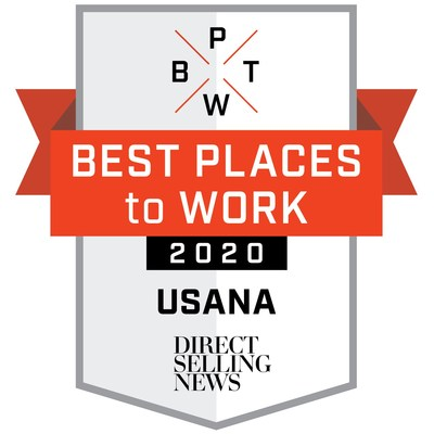 USANA named one of Direct Selling News' Best Places to Work in Direct Selling in 2020