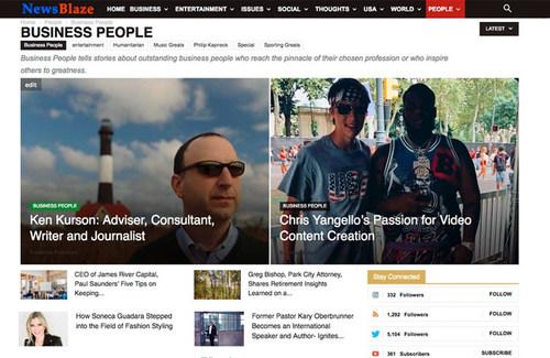 NewsBlaze story: Ken Kurson, Advisor, Consultant, Writer, Journalist