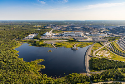 Site Canadian Malartic (Groupe CNW/Mine Canadian Malartic)