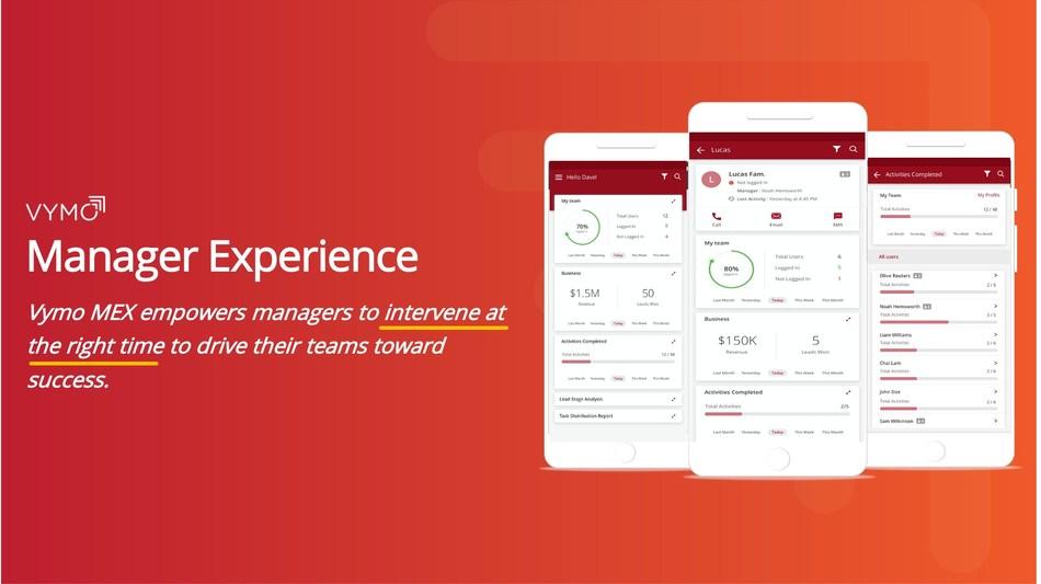 Vymo MeX Experience (PRNewsfoto/Vymo)