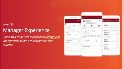 Vymoが予防的介入を推進し、販売結果を200%以上改善させるManager Experience(MeX)を発表