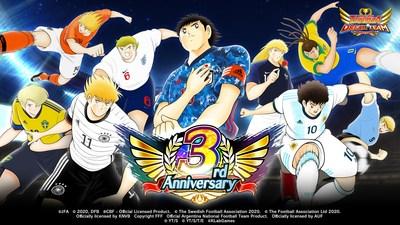 """el 3.er Aniversario de """"Captain Tsubasa: Dream Team"""""""