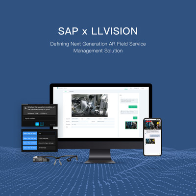 LLVISION and SAP have co-launched the AR FSM to bring a new generation of AR field management service solution.