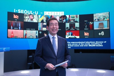 Seoul suggests creating an international organization among world cities to combat the pandemic