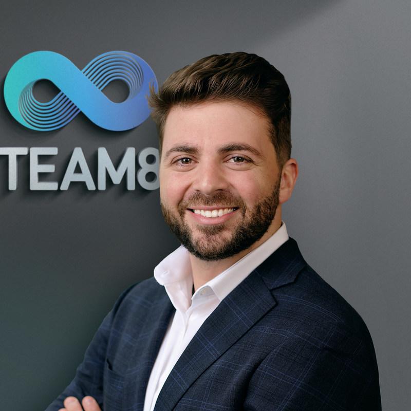 Liran Grinberg, Managing Partner, Team8 Capital & Co-Founder, Team8 (PRNewsfoto/Team8)