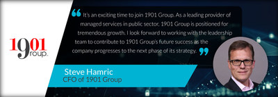 1901 Group Appoints Steve Hamric as CFO to Lead Ongoing Growth