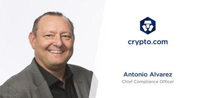 Crypto.com Appoints Antonio Alvarez as Chief Compliance Officer