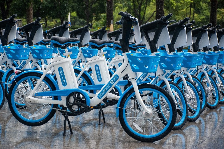 Shared mobility services combing bicycles and e-bikes are well-received by the residents in Chinese cities such as Hefei and Kunming