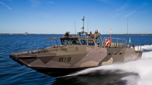 Combat boats CB90 – Swedish Navy (PRNewsfoto/iXblue)