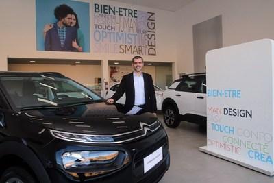 Fachada bimarca. Localizada na Av. Deusdedith Salgado, 2470 (Teixeiras), a nova Citroën Saint Germain atenderá toda a região da Zona da Mata com expectativa de surpreender os clientes de veículos novos todo mês.