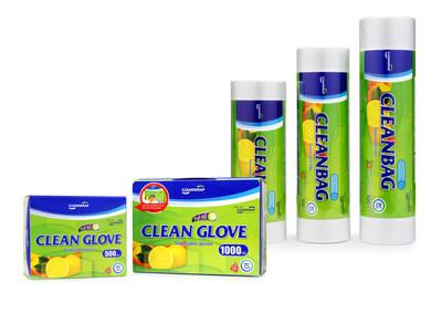 Cleanwrap sanitary gloves