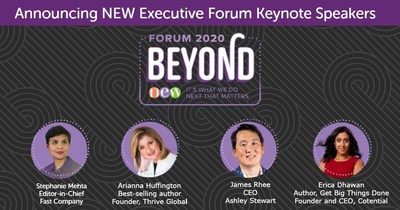 NEW Executive Forum 2020 Featured Speakers