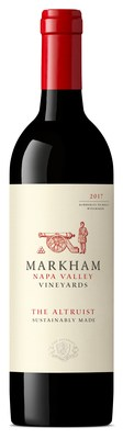 """Markham Napa Valley Vineyards has released a new wine, """"The Altruist,"""" a Bordeaux-style red blend dedicated to honoring our nation's veterans, first responders and community heroes who courageously defend and preserve our freedoms and security 365 days a year."""