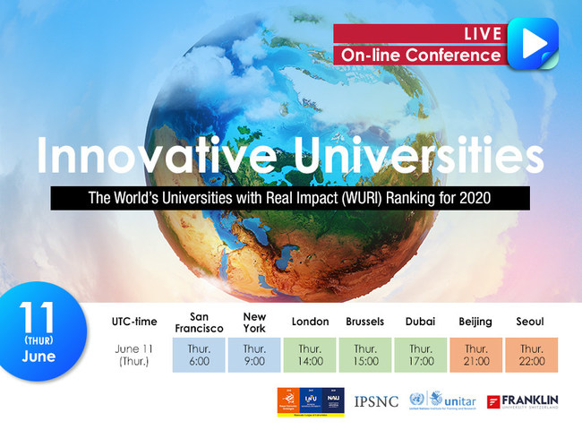 World Universities with Real Impact (WURI) for 2020