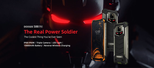 DOOGEE S88PRO Rugged Phone