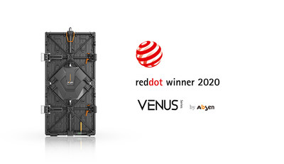 Ganhadora do Red Dot 2020 – a linha Venus da Absen (PRNewsfoto/Absen.com)